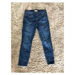 LOFT Skinny Jeans with Stars
